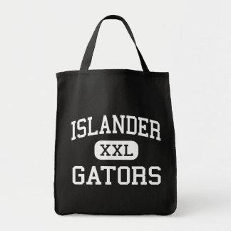 Öbo - alligatorer - mittet - Mercerö Tygkasse