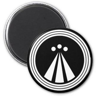 OBOD-symbol på Blk Magnet