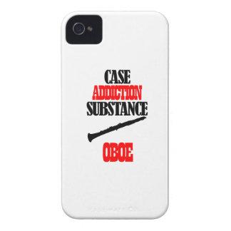 Oboe designer iPhone 4 Case-Mate skal