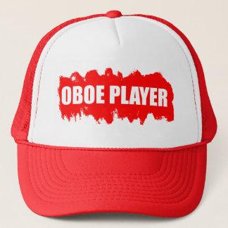 Oboe spelare truckerkeps