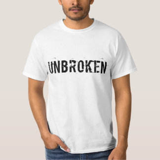 Obruten utslagsplats tee shirt