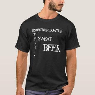Obrutet avsky - besegra, svettas, öl t-shirts