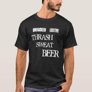 Obrutet avsky - besegra, svettas, öl tröja