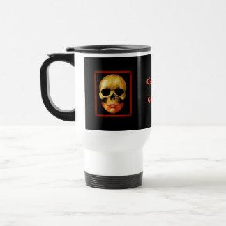 ObsoleteOddity travel mug - dubbel skalle Resemugg