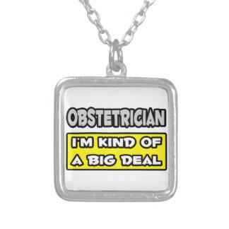 Obstetrician. I'm sort av en stor överenskommelse Anpassningsbara Smycken