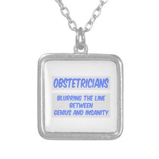 Obstetricianskämt. Snille och sinnessjukdom Anpassningsbar Halsband