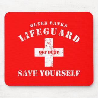 OBX-livräddare av - arbetsuppgiften sparar sig you Musmatta
