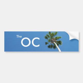 OC den orange ståndsmässiga Kalifornien Bildekal