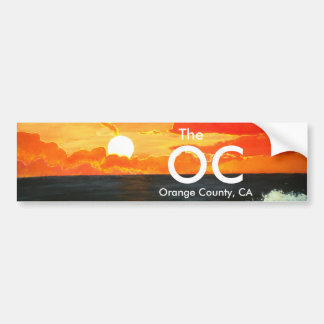 OC orange ståndsmässig Kalifornien bildekalkonst Bildekal