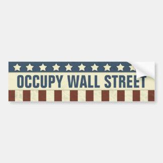Occupy wall street bildekal