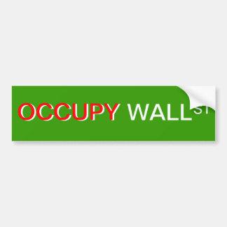 """Occupy wall street"" bildekal"