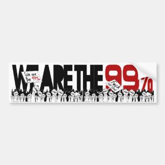 Occupy wall street - vi är 99%na bildekal
