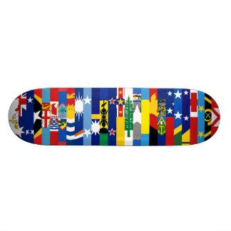 Oceanianen sjunker skateboarden anpassningsbara skateboard