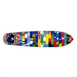 Oceanianen sjunker skateboarden old school skateboard bräda 18 cm