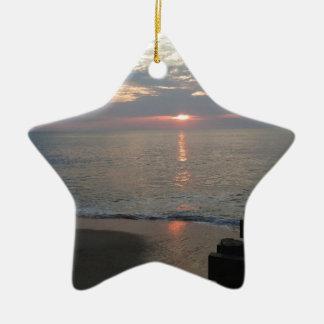 Oceanside Julgransprydnad Keramik