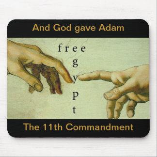 Och guden gav Adam den 11th commandmenten… Musmattor