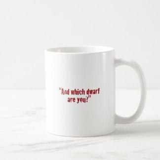 """""""Och, som ställa i skuggan, är du? """", Kaffemugg"""