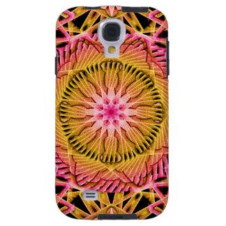 Octagonal blommaMandala Galaxy S4 Fodral
