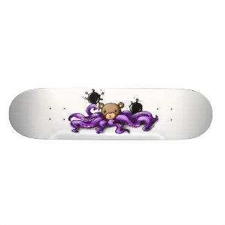 OctoBear Skateboard Bräda 20 Cm