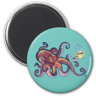 OctoCoffee Magnet