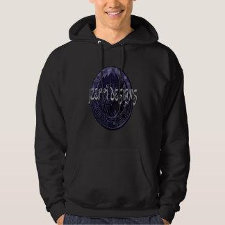 Octopuss t-skjorta sweatshirt med luva