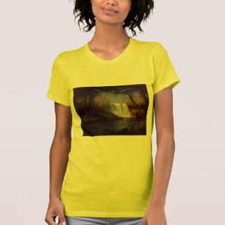 Öde för vattenfall för Albert Bierstadt målningsko Tshirts