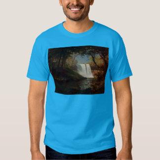 Öde för vattenfall för Albert Bierstadt Tee Shirt