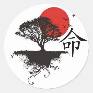 Japanska Klistermärken