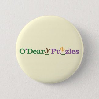 O'Deary pussel Standard Knapp Rund 5.7 Cm