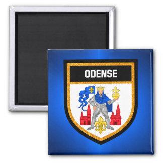 Odense flagga magnet