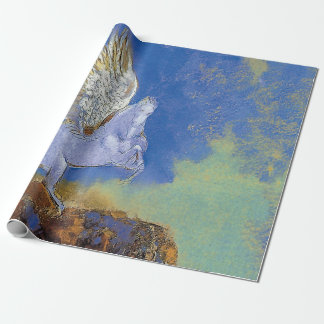 Odilon Redon Pegasus - grekisk Mythologysymbolism Presentpapper