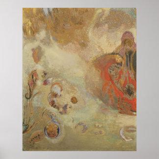 Odilon Redon - undervattens- vision Poster