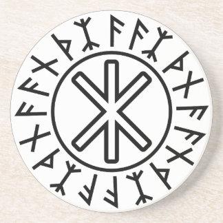 Odins skydd No.2 (svarten) Underlägg