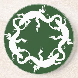 Ödlan underlägg gåvor för ödlan för reptilkonstdek