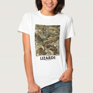 Ödlor (Ernest Haeckel Artforms av naturen) T Shirt