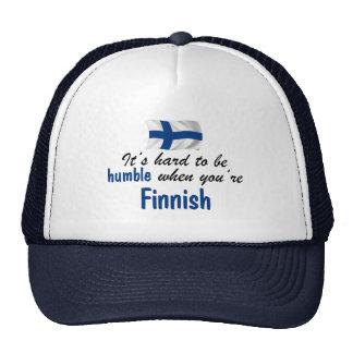 Ödmjuk finska keps
