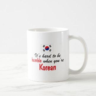 Ödmjuk korean kaffemugg