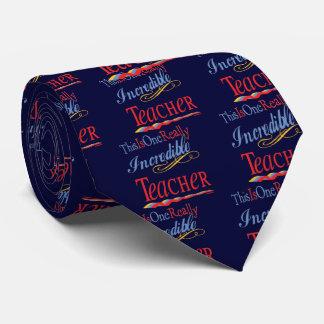 Oerhörd lärare slips