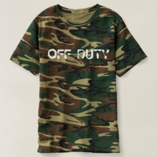 off duty camouflage design camou t-shirt design