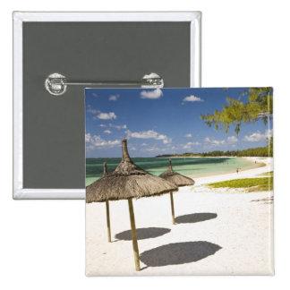 Offentlig strand för BelleMare, Southeast Mauritiu Standard Kanpp Fyrkantig 5.1 Cm