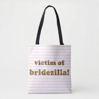 Offer av Bridezilla | den roliga Tigerprint totot Tygkasse