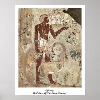Offerings av målare av den allvarliga kammaren poster