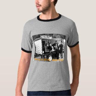 "OFFICIELL ""FINARE EN DRINK?"", T-tröja! T-shirt"