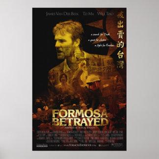 Officiell Formosa förrådd filmaffisch Poster