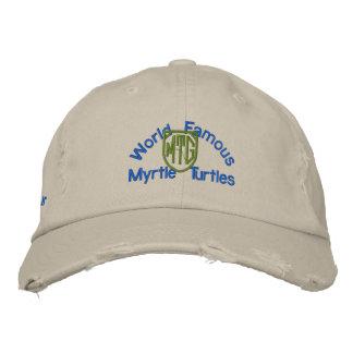 Officiell hatt för myrtensköldpaddaGolf Broderad Keps