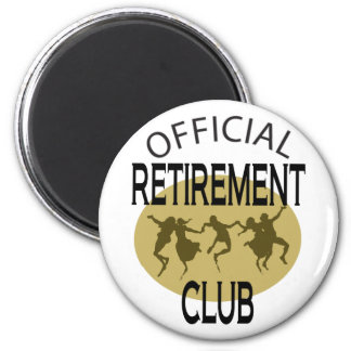 Officiell pensionklubb magnet