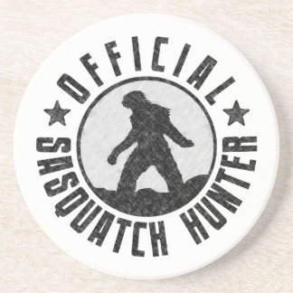 Officiell Sasquatch jägare - Bigfoot i B-/WGrunge Underlägg