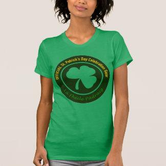 Officiell Sts Patrick skjorta för dagfirande T Shirts