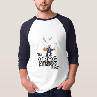 Officiell t-skjorta för Greg FrisbeeShow Tee