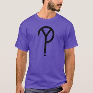 Officiell Y? SymbolT-Shirt. Tee Shirt